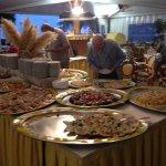 Am Vorspeisenbuffet