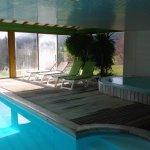 piscine couvert et chauffée toute l'année