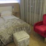 Una camera singola al Thon Hotel Opera