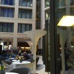Atrium lobby of Radisson Blu Hotel, Berlin, Germany
