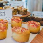 strawberry, lemon and polenta cake
