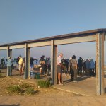 birdwatchers view eagles from the observation point 'cazalla' 15 minutes away.