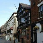 Ye Olde Custom House Pub in great location.
