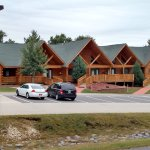 The smaller surrounding lodges are probably more convenient for the road-weary traveler.