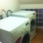 Quick laundry services :)