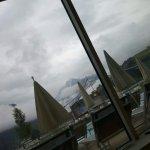 Nomalerweiße toller Ausblick aufs Kitzsteinhorn war jedoch bei uns wolkenverhangen