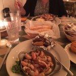 Rock Shrimp, Breadsticks, Sweet Potato