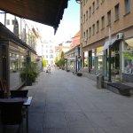 view from Slovenska street