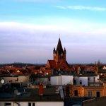 Blick über das historische Paulusviertel