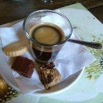 Espresso with petit fours...