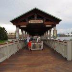 Sassagoula Steamboat Dock at Disney Springs