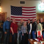 We group in Cody,Wy at Bubba's on 9/11/2016 after they had played taps
