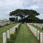 Some of the graves.