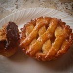 Pineapple pie and Eclair