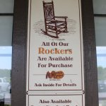You can purchase the rocking chairs.