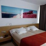 Buenas camas y una decoración agradable