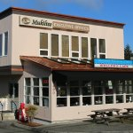 Wellers Cafe in front of Mukilteo Executive Offices Building