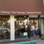 Exterior of Tranquil Tea Lounge in Fullerton, CA