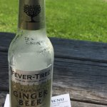 Ginger beer on a picnic table on a hot July day :)