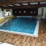 Hallenbad , gut zum Schwimmen , es gibt auch einen Wirlpool