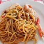 pasta (exact name - forgot, sorry)