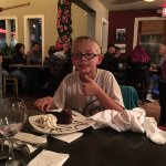 Grandson Evan's birthday dinner