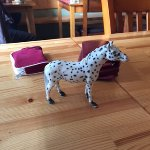 Table locator is a horse(animals used), instead of a number