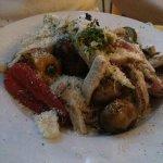 Vegatali Pasta with chicken added
