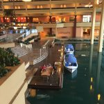Inside the hotel