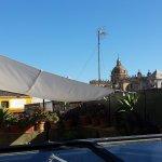 roof-top terrace for breakfast