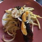 Tandoori seared scottish salmon
