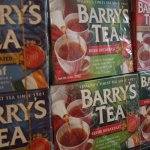 and the tea should be none other than Barry's Tea