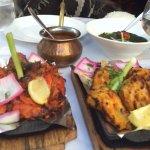 Tandoori Murgh (chicken), Sarson Fish Tikka