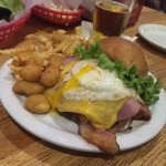 Bubs Brewing Company-Winona, Minnesota - All-American Burger