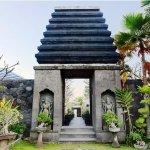 Entrance Pandawa Villa acces