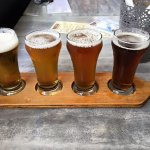 beer paddle sampler