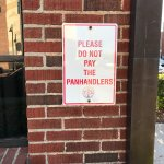 Avoid the Panhandlers
