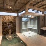 Spa, Steam Treatment Room and Ice Bath