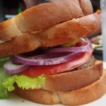 fat boy burger...superb treat (grilled cheese rolls)