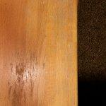 Holz Nachttisch - abgewohnt