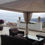 Aussicht von einer Chill Terrasse