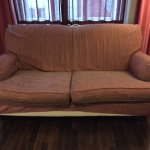 poor / ill fitting cover on sofa - Not grand impression on room!