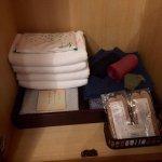 タオル&浴衣!浴衣は朝夕の2枚用意されてました。