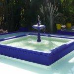 Fountain, vivid colours