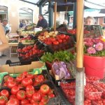 Fruit market in Rovinj