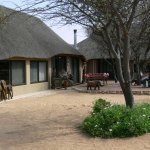 From our A-la-Carte restaurant wild animals can viewed directly at the waterhole.