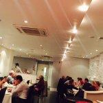 Customers enjoying the experience of dining at Zeera