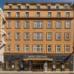 Hotel Stefanie mit neu gestalteter Fassade 2016