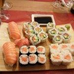 mélange sushi maki