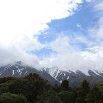 可以近距離看到Mt Taranaki